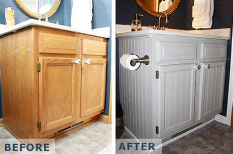 Win A Bathroom Makeover 2014 by Feature Friday With Beth Cabinet Makeover For 20
