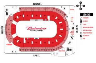 concourse map budweiser gardens