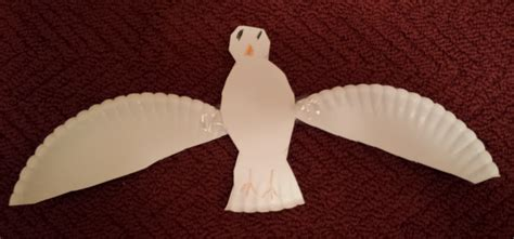 paper dove craft lovenloot holy spirit dove project