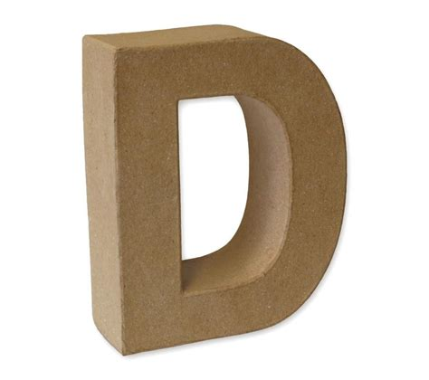 paper mache craft letters papier mache 3d alphabet letter shapes large 17cm high