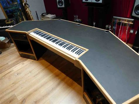 l shaped studio desk recording studio workstation desk home furniture design