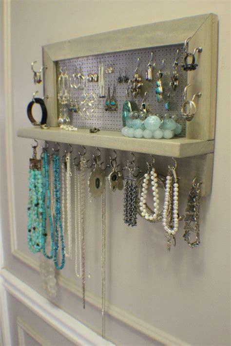 how to make jewelry hanger jewelry organizer jewelry ideas beautiful