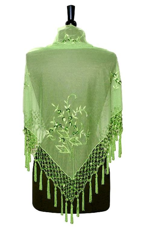 beaded wraps shawls handmade beaded embroidered shawl scarf wrap lime green ebay