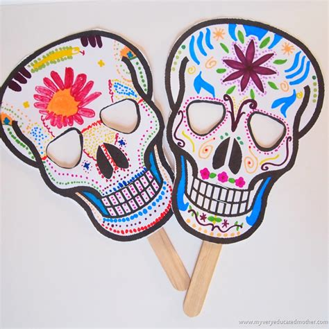 day of the dead crafts for 1st cycle teaching pnieb ideas and cool things