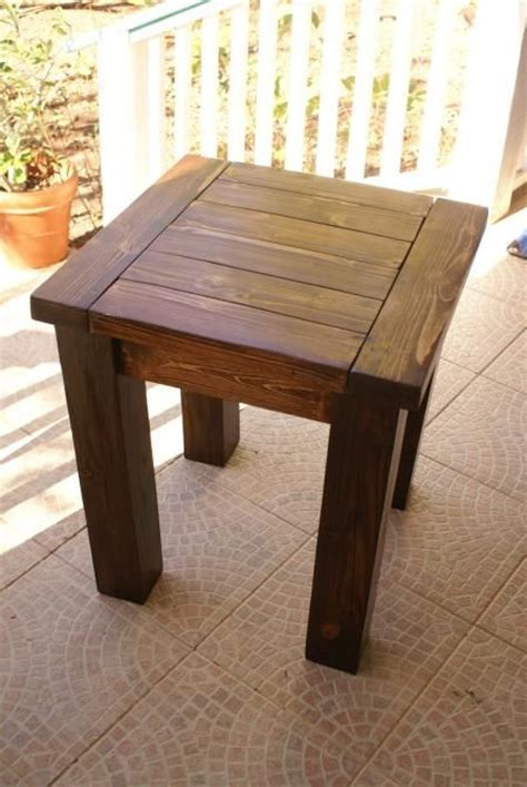 free woodworking plans for end tables free rustic end table plans woodworking projects plans