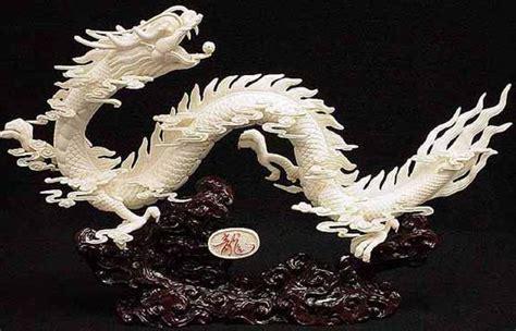carved bone bone carving bone dragons