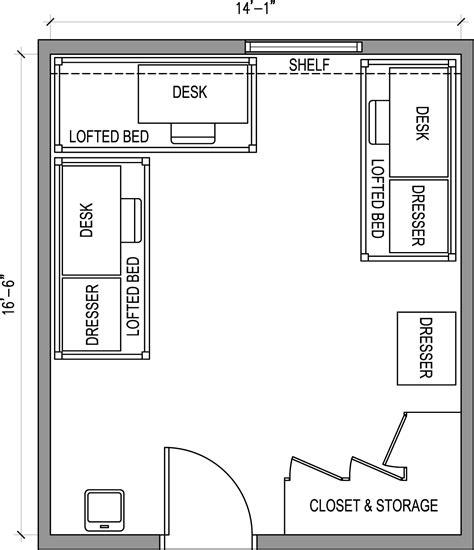 room measurements rooms residential minnesota state mankato