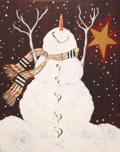 paint nite livermore snowman s bliss sat nov 25 7pm at pinot s palette