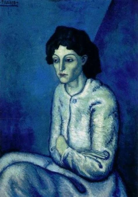 picasso paintings images blue period hella heaven picasso s blue period two