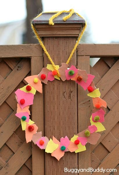 wreath craft for 45 of the cutest fall crafts for how wee learn