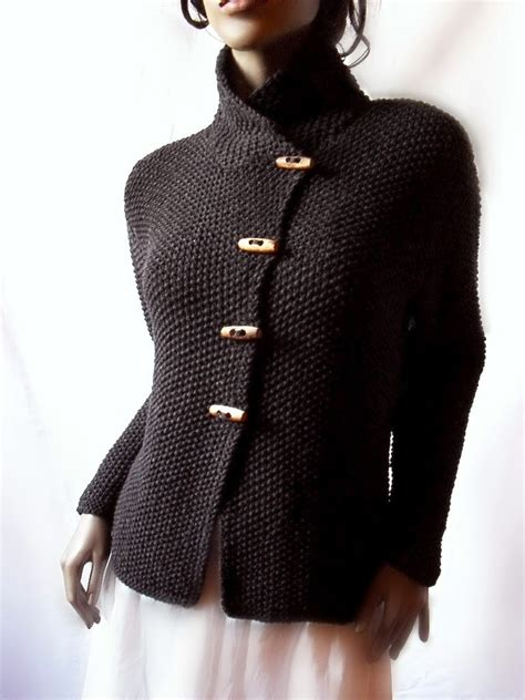 knitted jacket items similar to s knit jacket merino wool cardigan