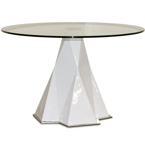 glass top pedestal dining room tables glass top dining table with arctic pedestal base