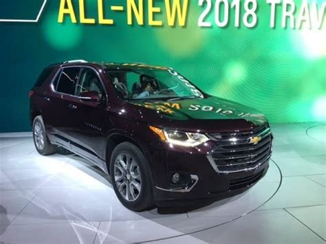 2018 Chevy Traverse Concept by 2018 Chevy Traverse Redline Look 2017 Naias