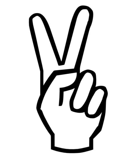 peace sign peace sign clipart best