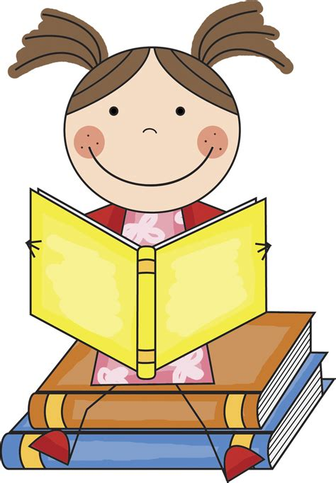 reading picture books clip children reading books clipart best
