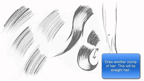 how to shade hair drawing shading hair using hatching technique basics