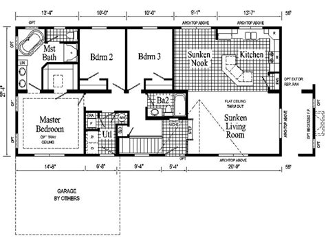 open ranch style floor plans ranch style house plans windham ranch style modular home pennwest homes model s hr102 a