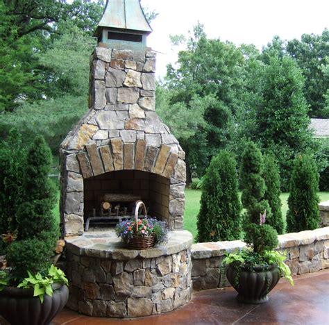 patio fireplace kits triyae backyard fireplace kits various design