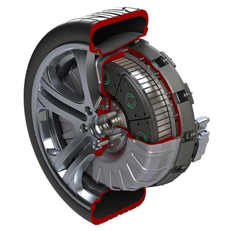 Electric Motor Drive by In Wheel Electric Drive Motor Sae International