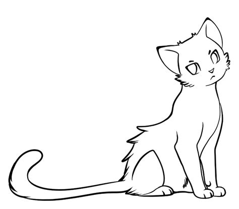 cat easy simple cat drawings clipart best