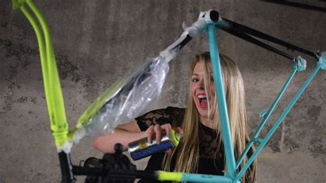 spray painting your bike check out our arty spray bike paint bikeradar