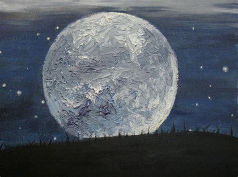 acrylic painting moon home page pabha