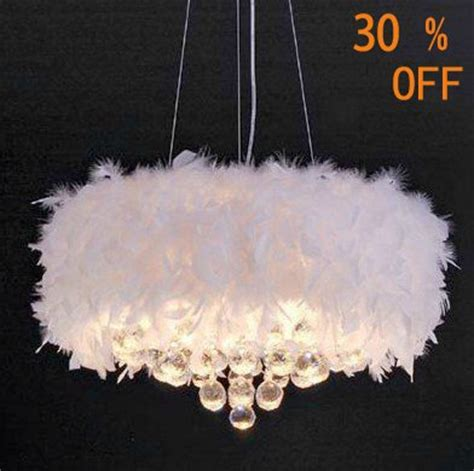 white feather lights new white feather chandelier with 3 lights jpg