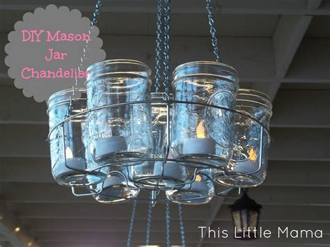 how to make a chandelier out of project diy jar chandelier this