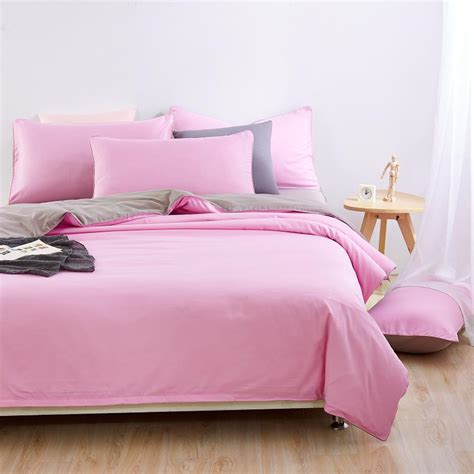 pink and grey bed sets get cheap pink comforters aliexpress