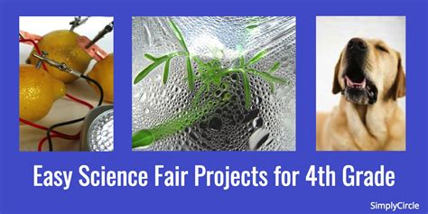 for 4th graders 25 easy science fair projects for 4th grade simplycircle