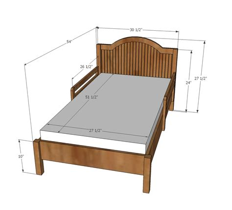 size childrens bed frames white traditional wood toddler bed diy projects