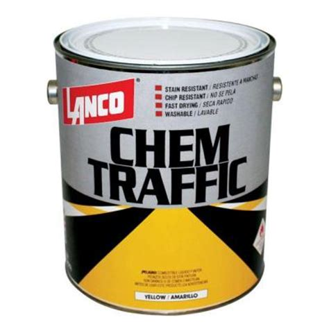 home depot yellow paint suit lanco chem traffic 1 gal yellow paint ct401 4 the home