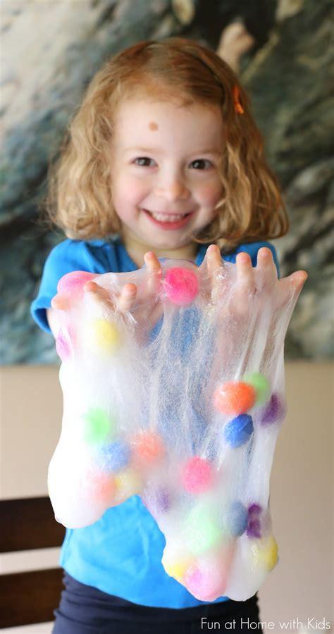 to make with toddlers polka dot slime