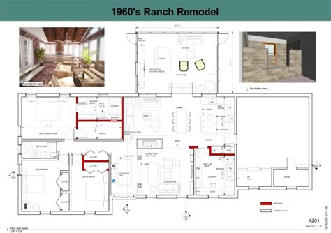 ranch remodel floor plans entire floor designed by libra k 1960 s ranch remodel