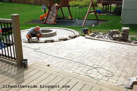 how to do paver patio how to do a paver patio how to do a patio yourself brick