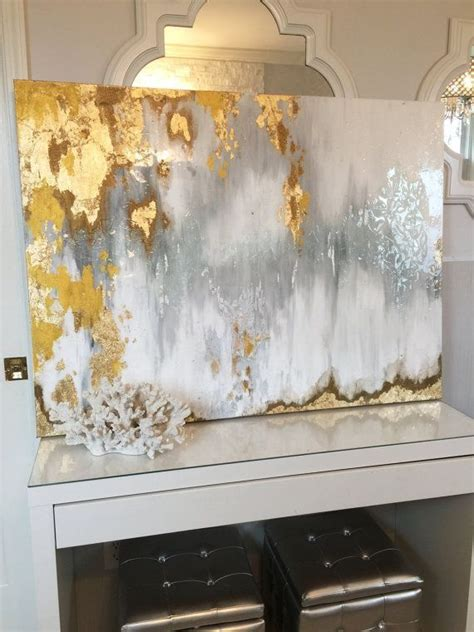 acrylic painting gold best 25 gold leaf ideas on gold leaf