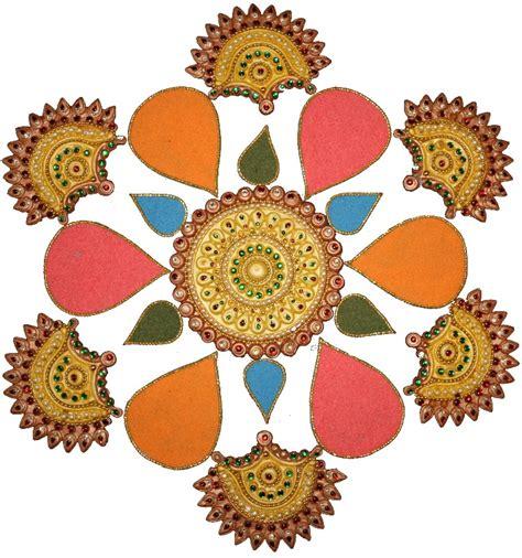 rangoli craft for rangoli designs coloring