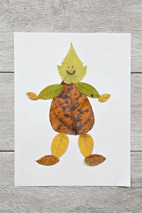 leaf craft for and easy leaf craft my style