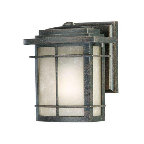 home depot outdoor wall lighting filament design 1 light imperial bronze outdoor