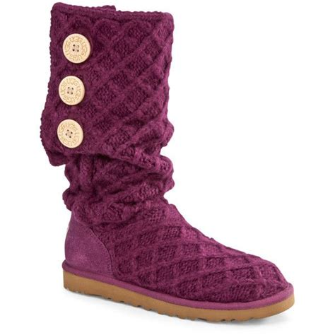 knit ugg boots with buttons ugg 174 australia lattice button knit boots window shopping