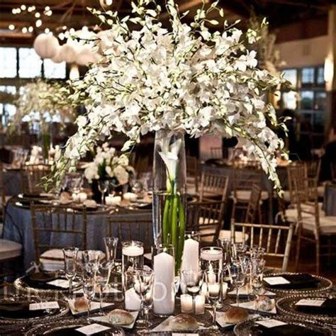 and white centerpieces best 25 wedding centerpieces ideas on