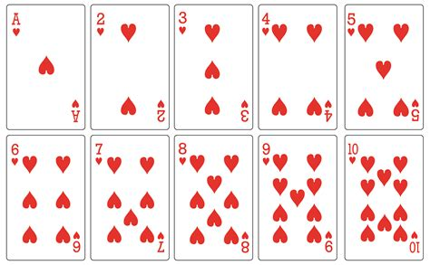 how to make a deck of cards 8 best images of free printable deck of cards free