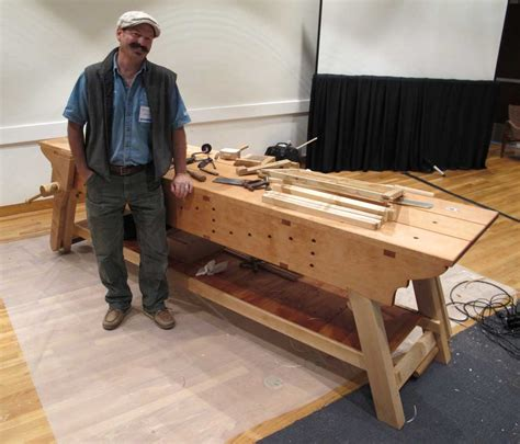best woodworking benches erik mortensen s awesome workbench