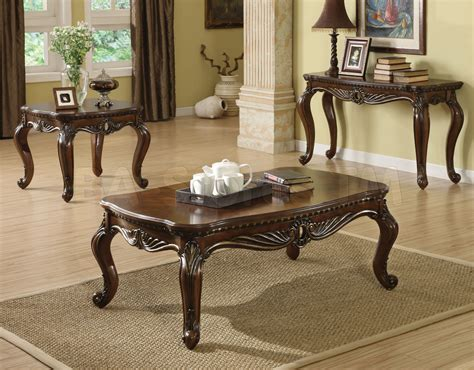 traditional coffee table sets traditional coffee