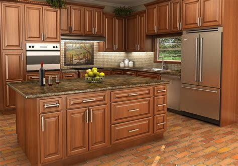 kitchens with maple cabinets buy spice maple rta ready to assemble kitchen cabinets