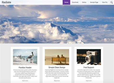 best free 15 best free personal themes templates 2017