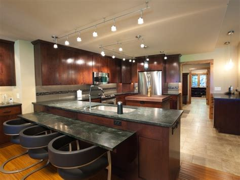 kitchen island track lighting track lighting for kitchen ceiling glamorous kitchen