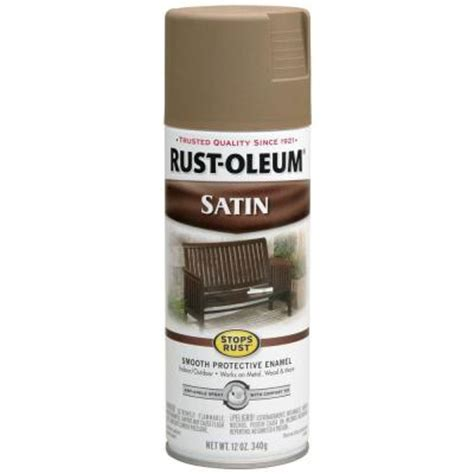 home depot paint guard rust oleum stops rust 12 oz protective enamel satin