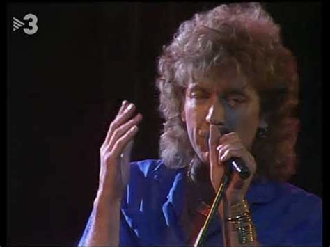 angel casas show robert plant big log 1985 angel casas show youtube