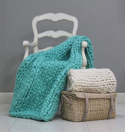 knitted blankets for sale 25 best ideas about chunky knit throw on